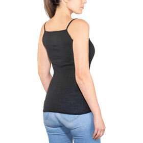 super.natural Rib Top Mujer, jet black